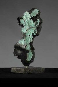 Bachgen Gwyrdd:  Bronze H50cm
