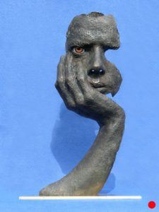 Fragments-of-Jack-00 A Portrait: Bronze (SOLD)
